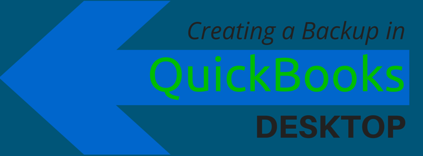 Creating a Backup in QuickBooks Desktop - Affordable