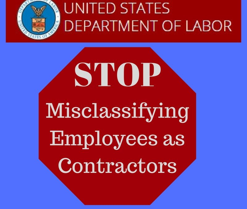 New Contractor Misclassification Guidance Available