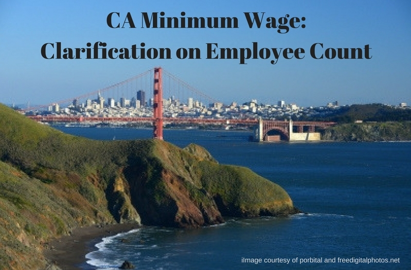 Clarification on CA's New Minimum Wage