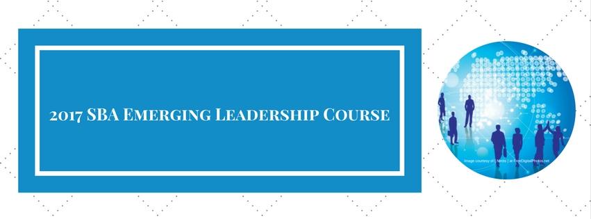 2017 SBA Emerging Leadership Course