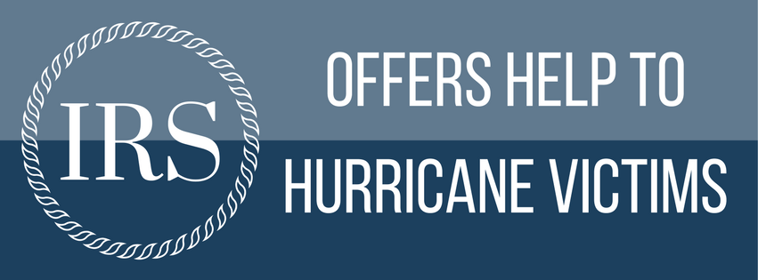 IRS Offers Help to Hurricane Victims