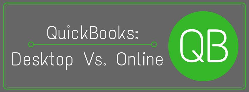 QuickBooks: Desktop Vs. Online