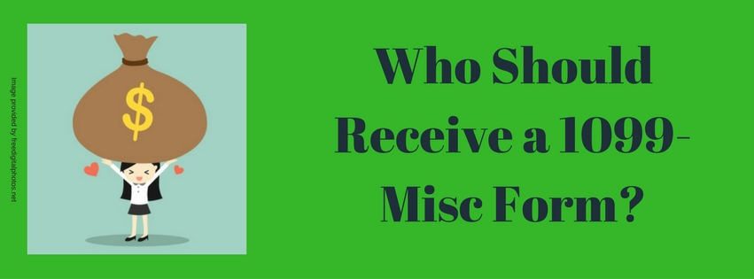 Who Should Receive a 1099-Misc Form?
