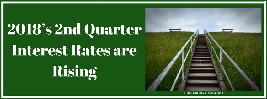 2018's 2nd Quarter Interest Rates are Rising
