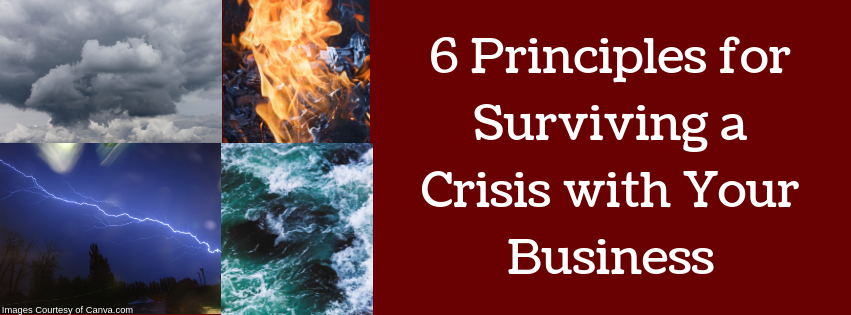 6 Principles for Surviving a Crisis In Your Business