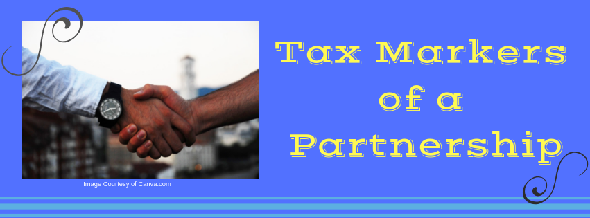 Tax Markers of a Partnership