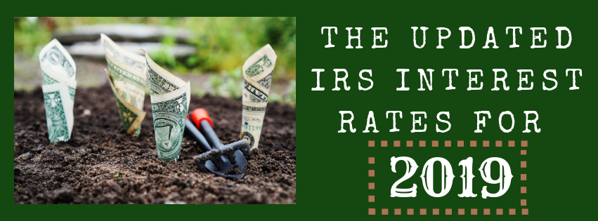 The Updated IRS Interest Rates for 2019