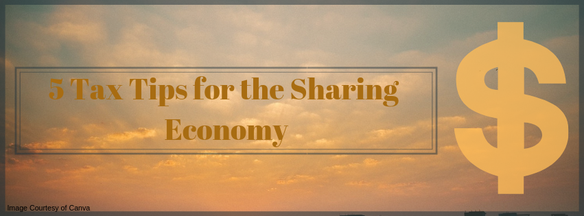 5 Tax Tips for the Sharing Economy