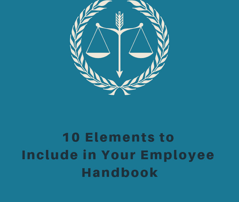 10 Elements in Employee Handbooks