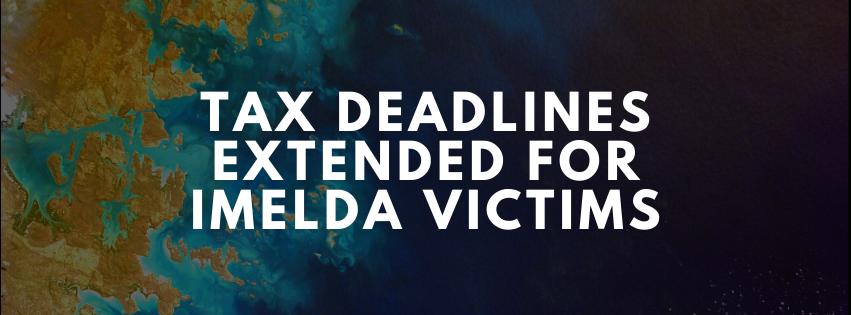 Tax Deadlines Extended for Imelda Victims