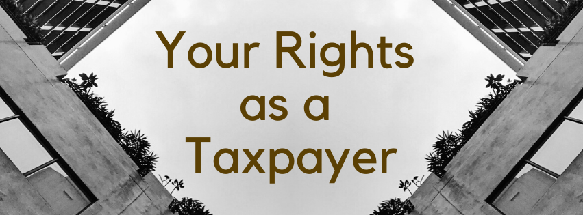 Your Rights as a Taxpayer